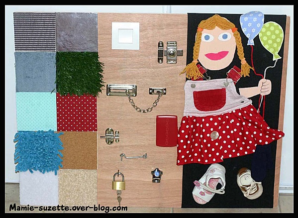 homemade sensory board diy for kids