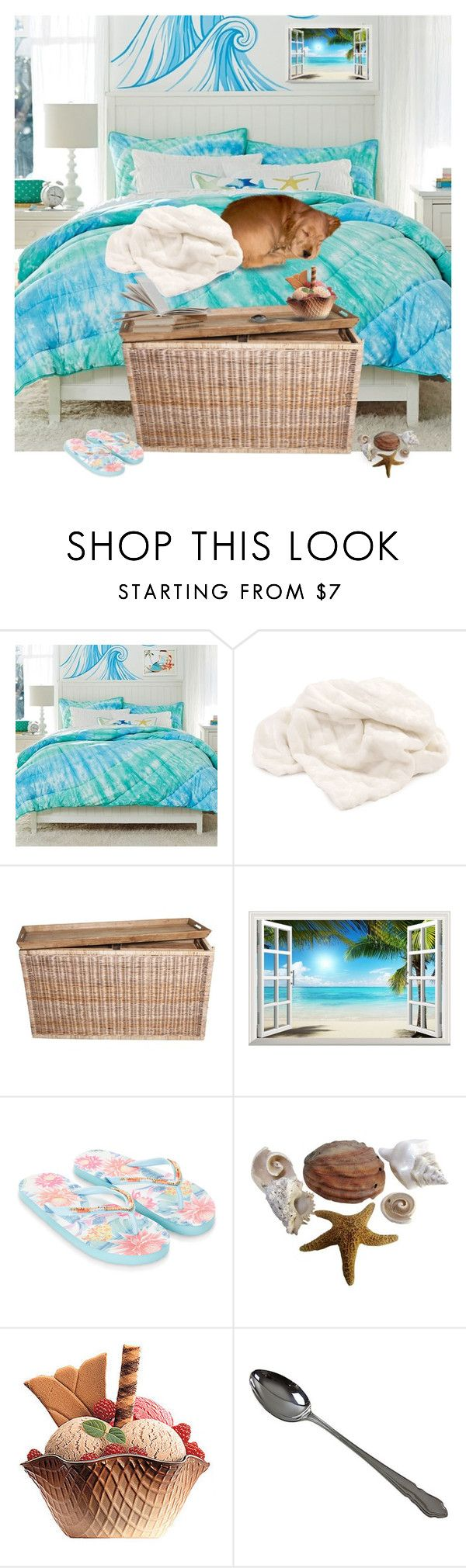 Home decor collage from january 2017 featuring currey company -  Sleepy Time Beach Time By Alara Cary Liked On Polyvore Featuring Interior