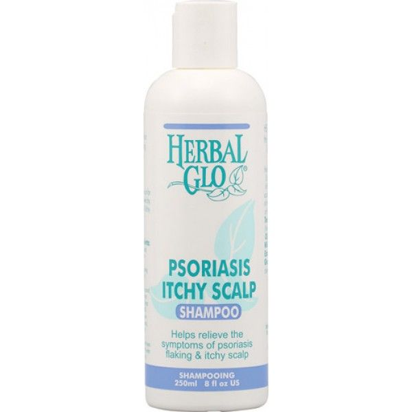 Herbal Glo Psoriasis Itchy Scalp Shampoo -- 8 fl oz 4 2