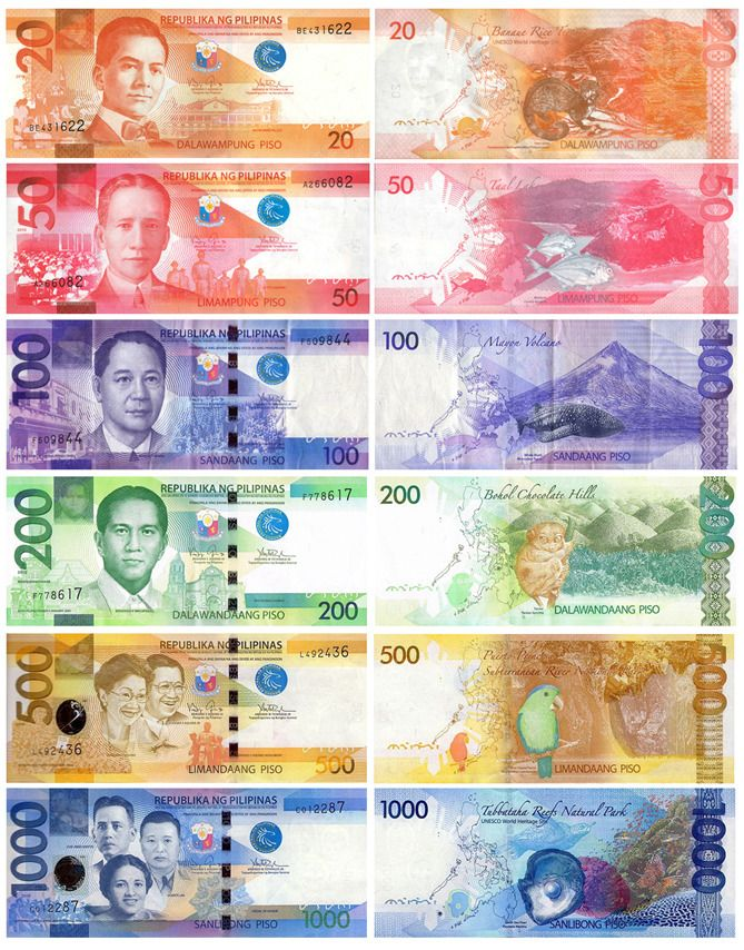 New Philippine paper money