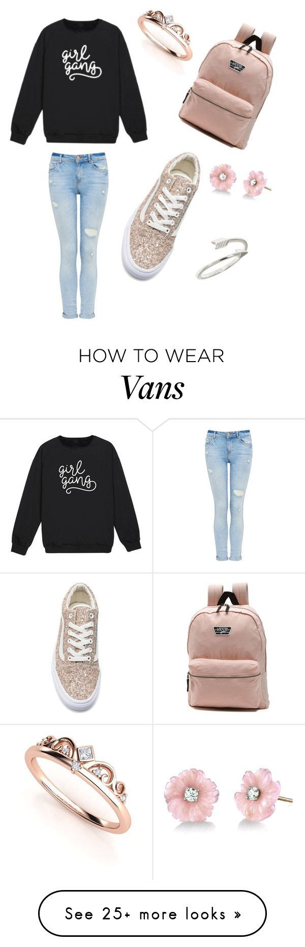 """Untitled #6"" by wisedog74 on Polyvore featuring Vans and Irene Neuwirth"