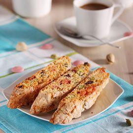 Кантучини с шамфъстък и сушени малини   Sunshine's kitchen