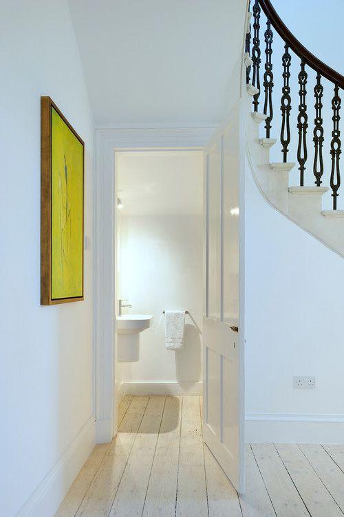 Bathroom Under Stairs 22 best powder room ideas images on pinterest | bathroom ideas