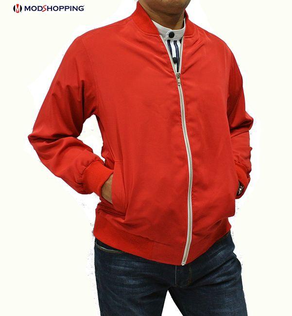 Modshopping - Red 60's monkey jacket, £75.00 (http://www.modshopping.com/red-60s-monkey-jacket/)