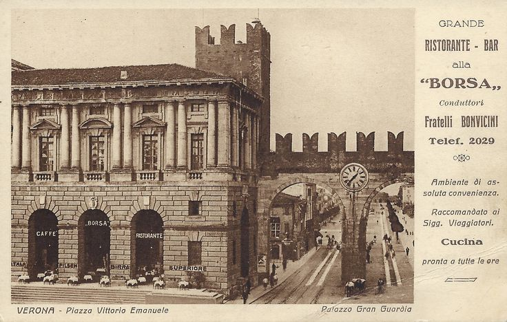 Verona - Ristorante - Bar alla Borsa