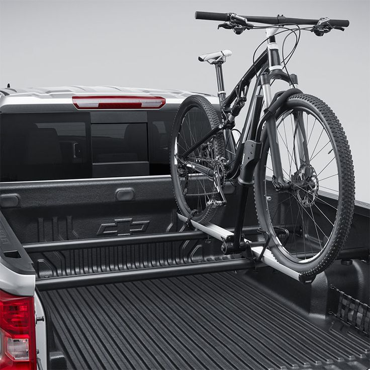 2020 Silverado 2500 Bicycle Carrier Bed Mounted Wheel Mount