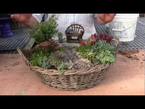 Fairy Garden Container Ideas the options for these adorable fairy gardens are endless with only a few materials and 169 Best Fairy Garden Containers Images On Pinterest