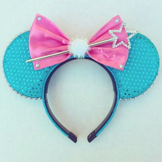 Possibly my favorite at the moment! Fairy godmother original Cinderella Mickey ears