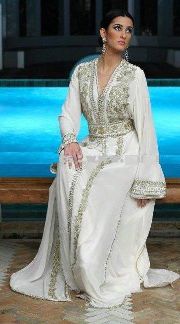 mh beautiful white Caftan.