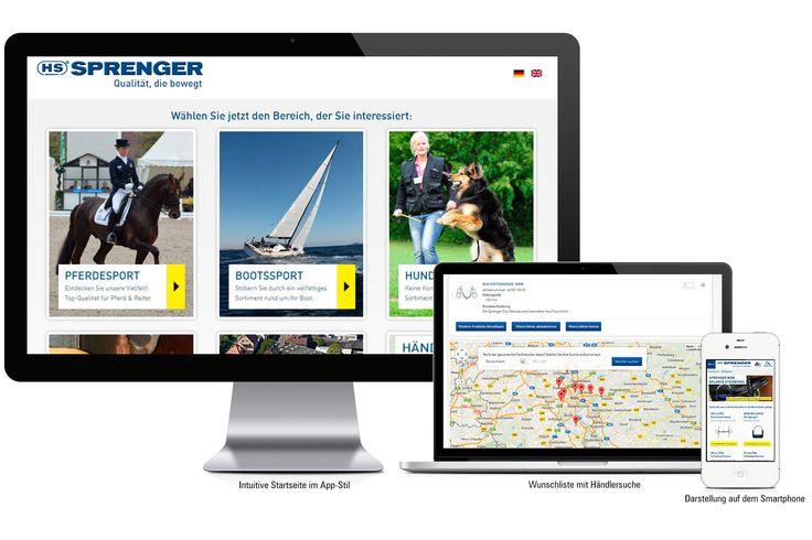 Website-Relaunch für die Herm. Sprenger GmbH Innovative Verbindung von Typo3 und Magento I http://www.sprenger.de