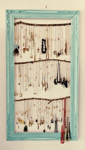 10 ideas for necklace hanger