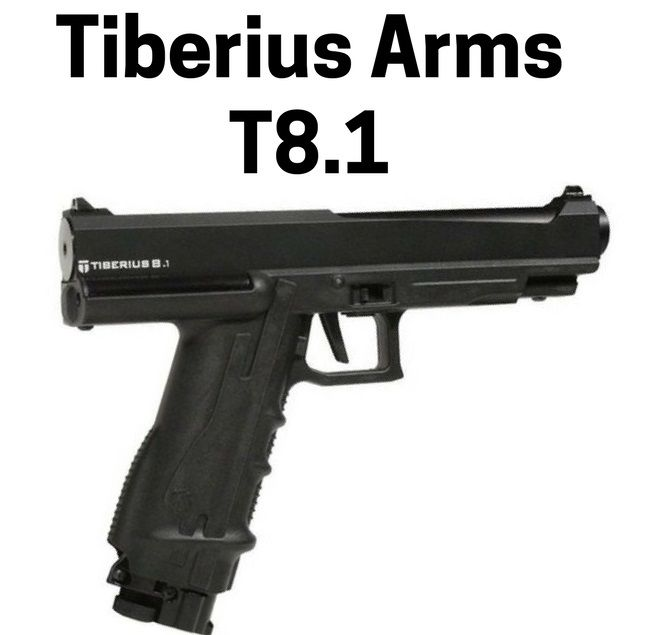 Tiberius Arms T8.1 best paintball pistol