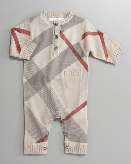 Burberry baby boy clothes