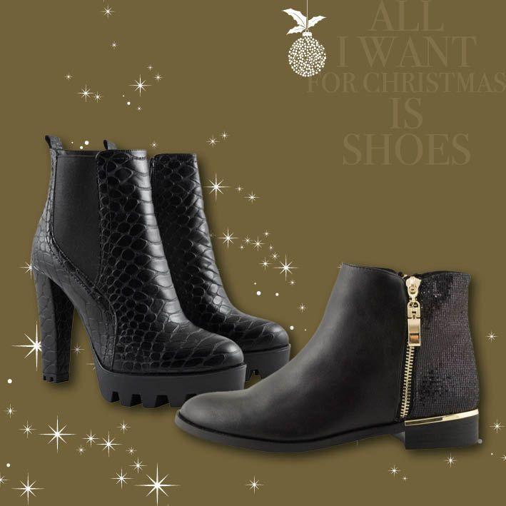Your street style look!  Αυτές τις γιορτές... εντυπωσιάστε σε κάθε σας βήμα!       Με τις μοναδικές επιλογές Topshoes, που αναδεικνύουν κάθε σας εμφάνιση!