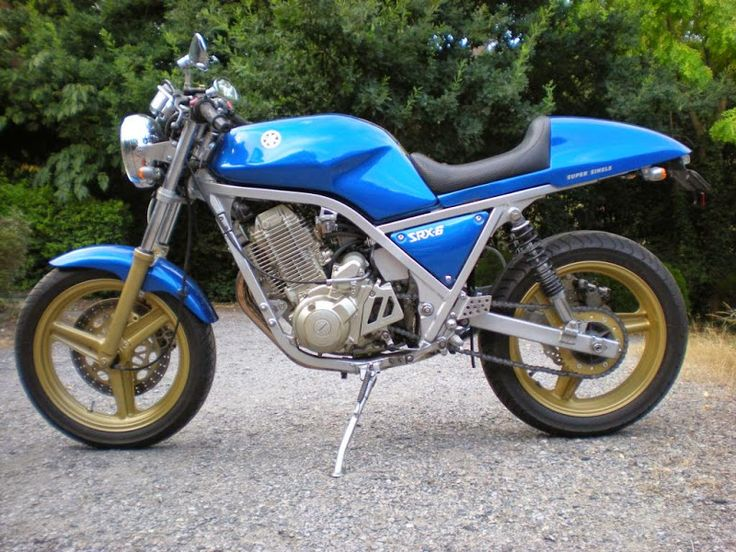 SRX600 with XT600 engine
