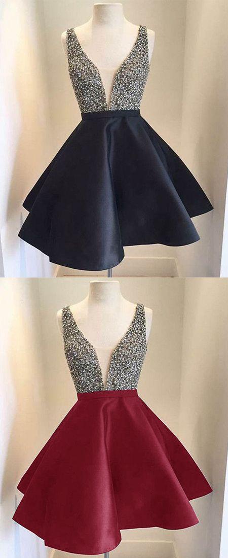 black homecoming dress, homecoming dresses, short homecoming dress,homecoming 2017