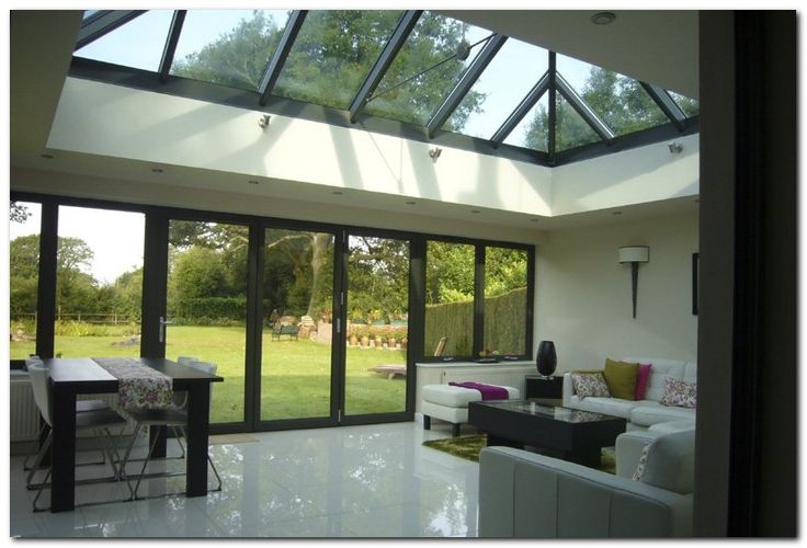 70 awesome roof lantern extension ideas jardin design for Extension piscine couverte