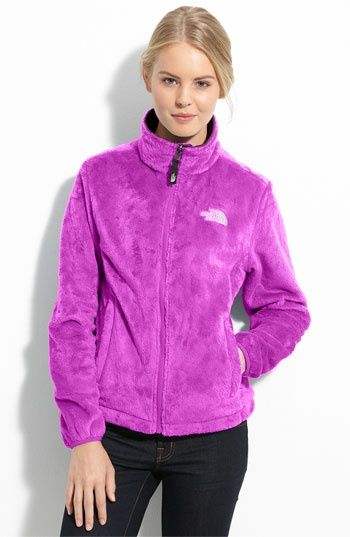 North Face fleece - love it but I would get it in black probably....