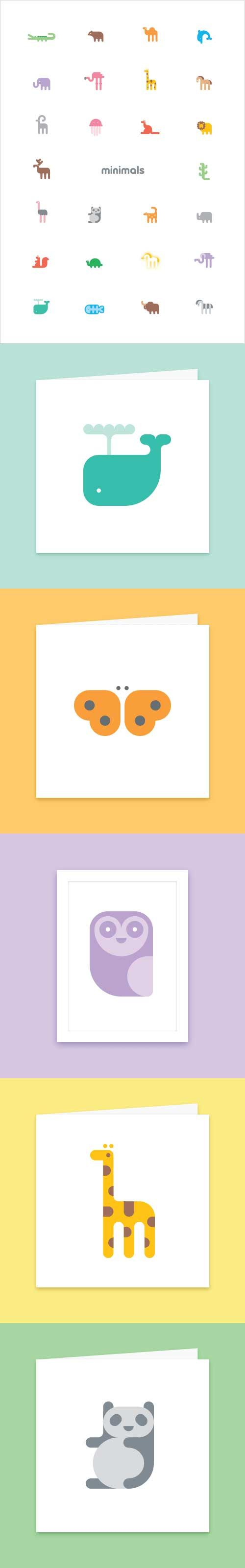 Minimals Paper Goods #icons
