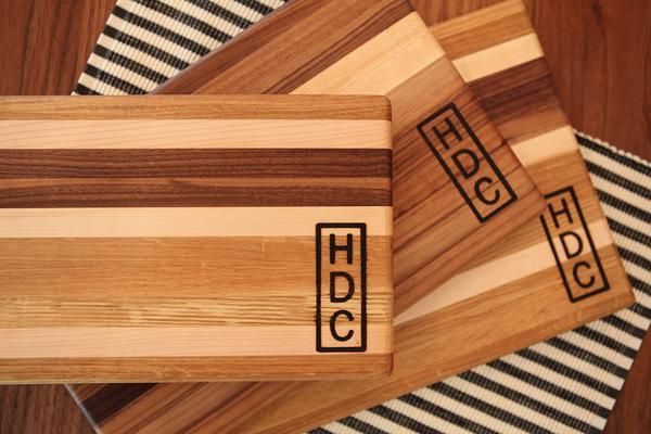 Gorgeous cutting boards <3  Harp Design Co