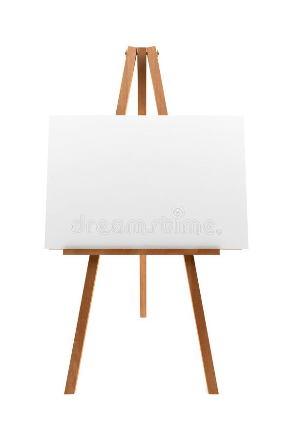 Wooden Easel With Blank Canvas Isolated On White Background Sponsored Paid Affiliate Easel White Background Blank Wooden Easel Art Easel Canvas