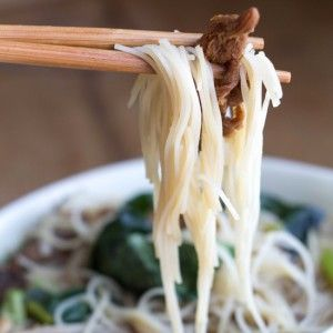 Chinese Mushroom Noodle Soup - Erren's Kitchen