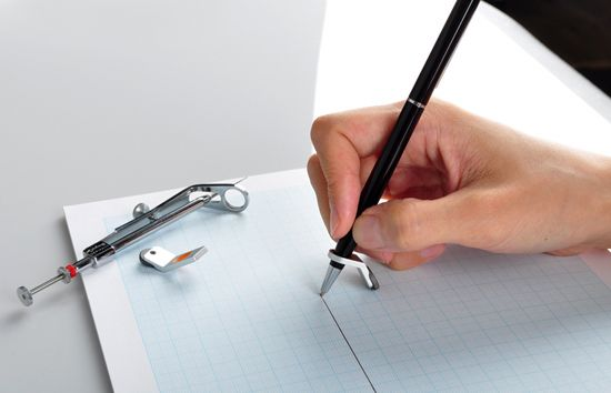 no ruler needed? necessity: Pens Rolls, Measuring Wheels, Korean Products, Drawings Straight, Drawings Aid, Pens Attached, Constrain Ball6, Straight Line, To Drawings