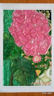 Jolcine pasje, hortensja (pocztówka)