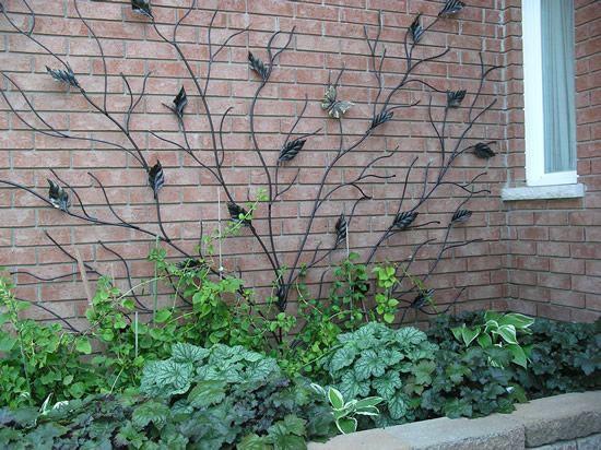 metal trellis evolution iron projects gardens - Trellis Design Ideas