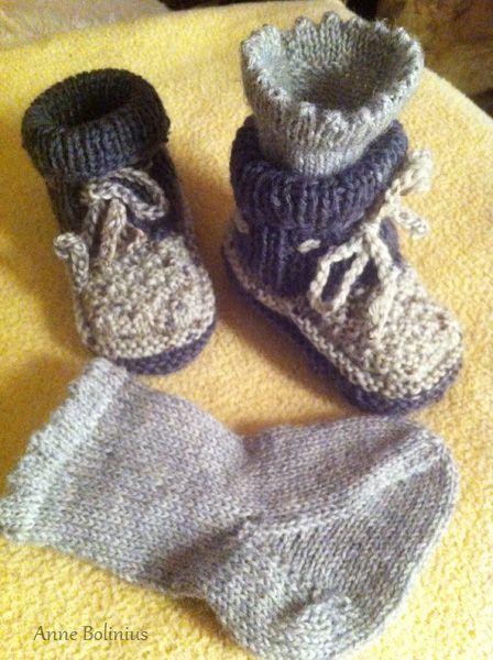 Babyschuhe stricken | Antlia