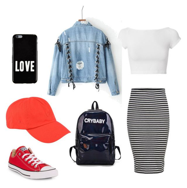 """""""Untitled #4"""" by cande-monier on Polyvore featuring Converse, Helmut Lang, C.P. Company and Givenchy"""