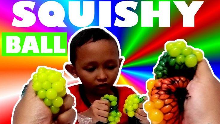 Squishy Collection Mesh ball Mainan anak Keren & lucu - Learning Color |...