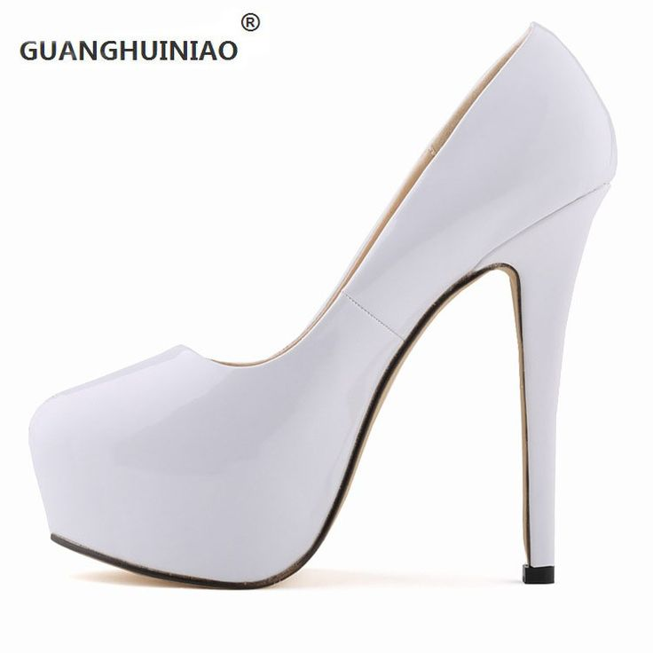 2017 super fashionable nightclub wind waterproof paint the bride shoes high heels for women's machine
