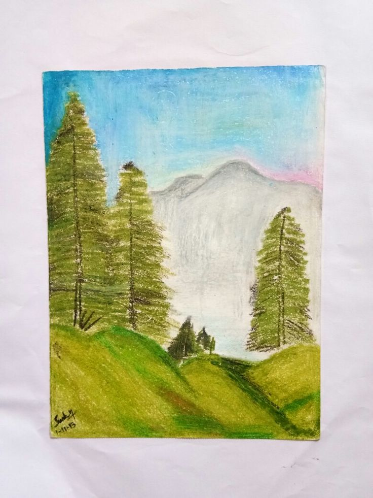 Workin with oil pastels is real fun.. 01.11.2013