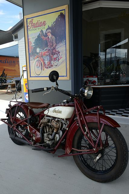 1928 Indian 101 at the Indian Motorcycle Museum Of Australia opens on March 15 at 419 Newman Rd, Geebung.
