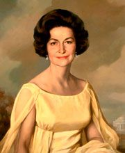 Mrs. Johnson received the Presidential Medal of Freedom award from President Gerald Ford in 1977. First Lady - Lady Bird Johnson | C-SPAN First Ladies: Influence & Image