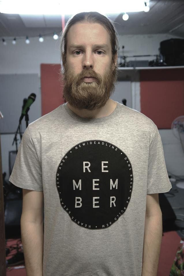 """""""Remember emblem"""" t-shirt. Organic cotton  Available in sizes: S/M/L, model is wearing size M #MakersAndDoers #inspiration #fashion"""
