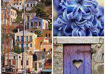 "Greece by Tina / "" θα βγω στις ασπρες Πυλες του μεσημεριου, χτυποντας με λαλιες, τα γαλανα Αναστασιμα..""Ο. Ελυτης  / από το χρήστη tina malamatina"