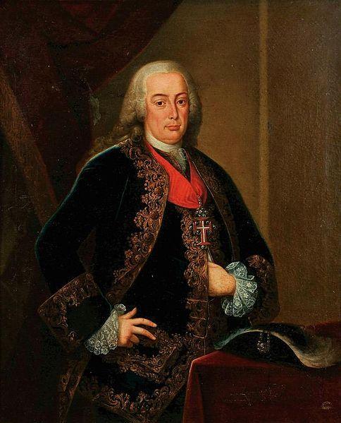 Anonymous portuguese school Portrait of Rei D. Pedro III de Portugal enquanto infante e duque de Beja (1699-1782) 18th century