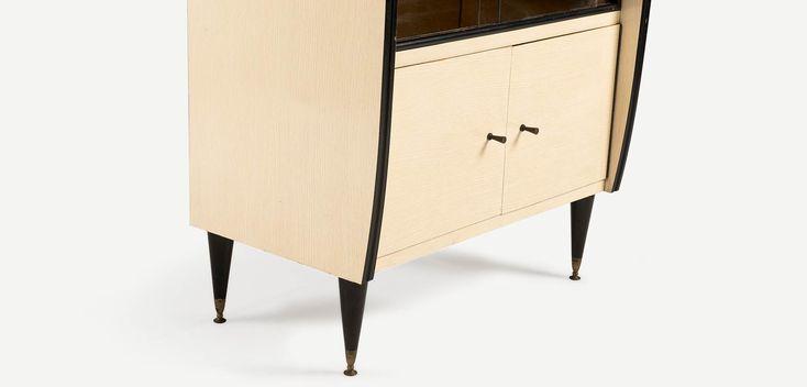 FIFTIES 1950ler MidCentury tarzı formika büfe | 1950s MidCentury Style Formika Vintage Cabinet