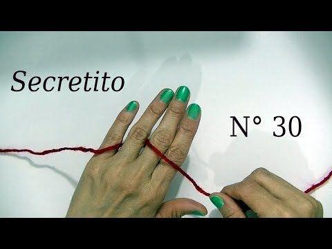 Secreto o Tip ¿Cómo colocar el hilado entre los dedos?