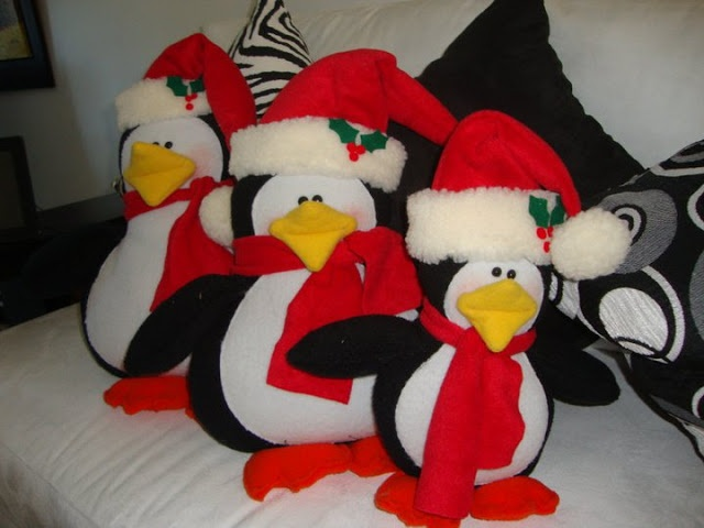 Christmas penguins By Angeline
