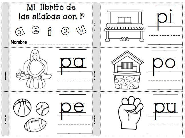 Silabario En Imprimir Para Espanol