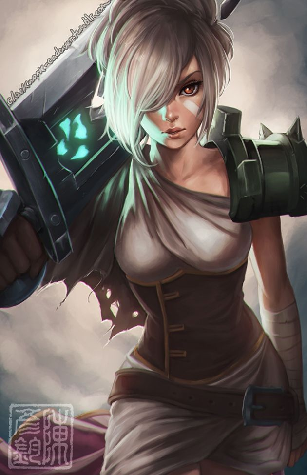 Riven: Always thought she looked cool: always did badly.