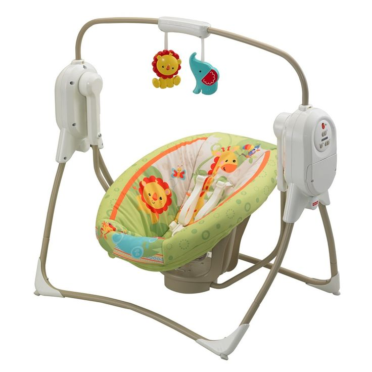 Fisher Price Space Saver Cradle n Swing