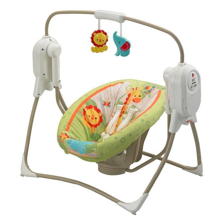 Fisher Price Space Saver Cradle n Swing