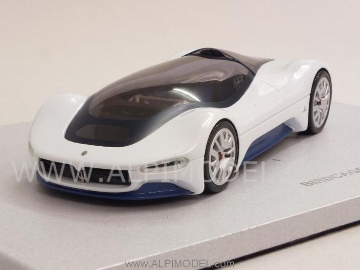 Maserati Birdcage 75h Pininfarina 2005 - Special Limited Edition Pininfarina Collection (HQ Resin) by miniminiera