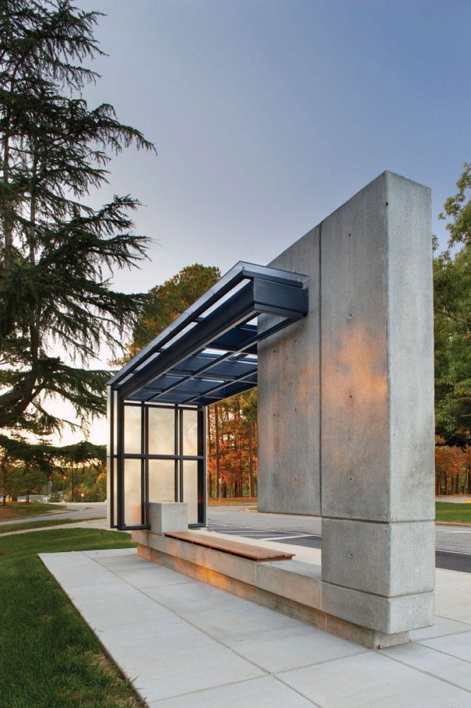 Bus Shelter by Pearce Brinkley Cease   Lee, Raleigh, North Carolina, USA