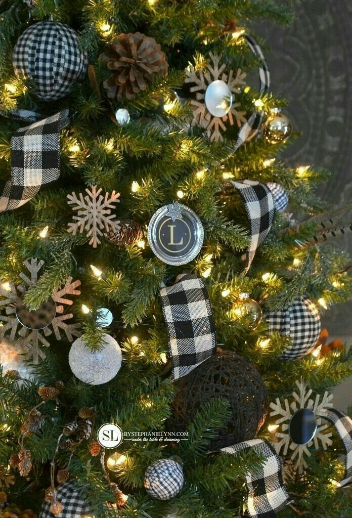 Pin By Adelaide Borges On Chrismas Best Idea Decoration Plaid Christmas Tree Christmas Decorations Christmas Wreaths