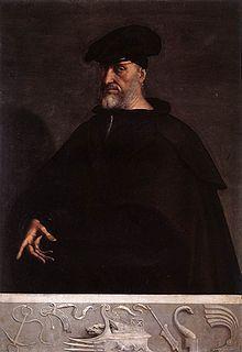 Sebastiano del Piombo (1485-1547) ~ Portrait of Andrea Doria ~ Palazzo Doria ~ Rome
